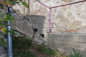 Treppe zur Synagoge